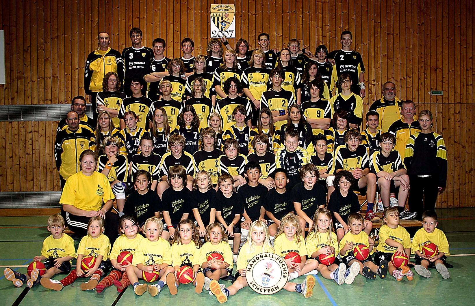 Alle Mannschaften 2007