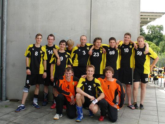 Die Herrenmannschaft 2008/2009 von Trainer Thomas Fleischhauer.