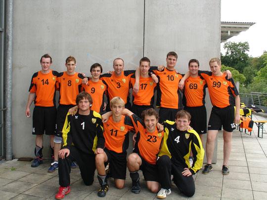 Die Herrenmannschaft 2009/2010 von Trainer Thomas Fleischhauer.