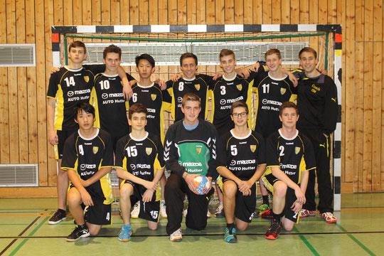 Die männliche A-Jugend 2014/2015 von Betreuer Christian Missy.