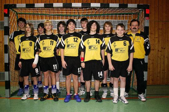 Die männliche B-Jugend 2006/2007 von Trainer Christian Müller.