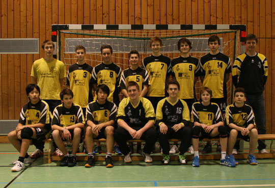 Die männliche Die männliche B-Jugend 2012/2013 von Betreuer Christian Missy.