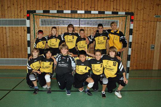 Die männliche C-Jugend 2009/2010 von Betreuer Christian Missy.