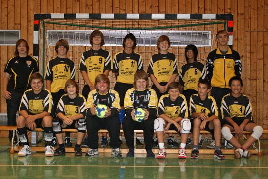 Die männliche C-Jugend 2010/2011 von Betreuer Christian Missy.