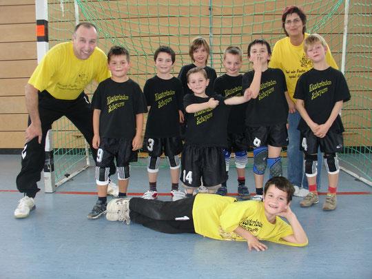 Die männliche E-Jugend 2010/2011 von Trainer Thomas Fleischhauer.