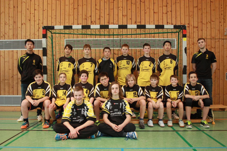 Mannschaftsfoto C-Jugend