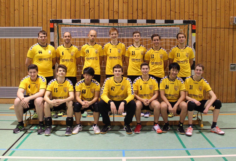 Mannschaftsfoto Herren Heim