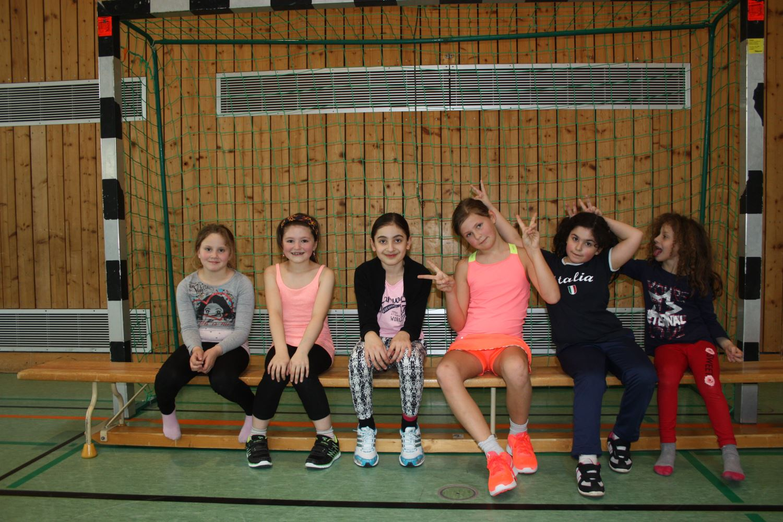 Mannschaftsfoto weibliche E-Jugend