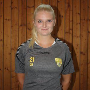 C-Jugend-Betreuerin Carina Heimbach