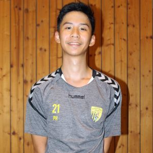 E-Jugend-Betreuer Eric Wang