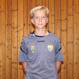 E-Jugend-Betreuer Tobias Falk