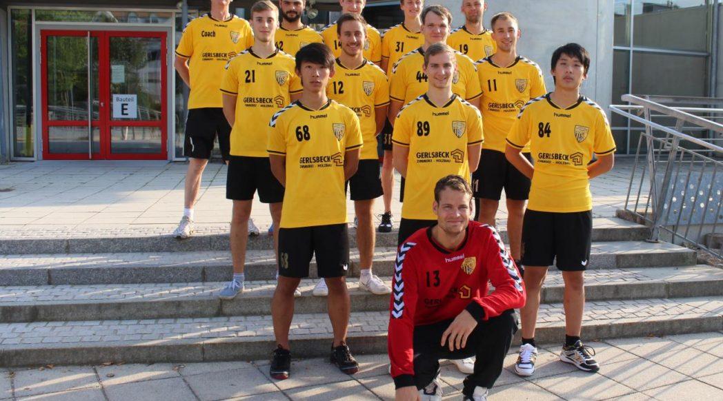 Herrenmannschaft Handball Füchse Saison 2016 / 2017