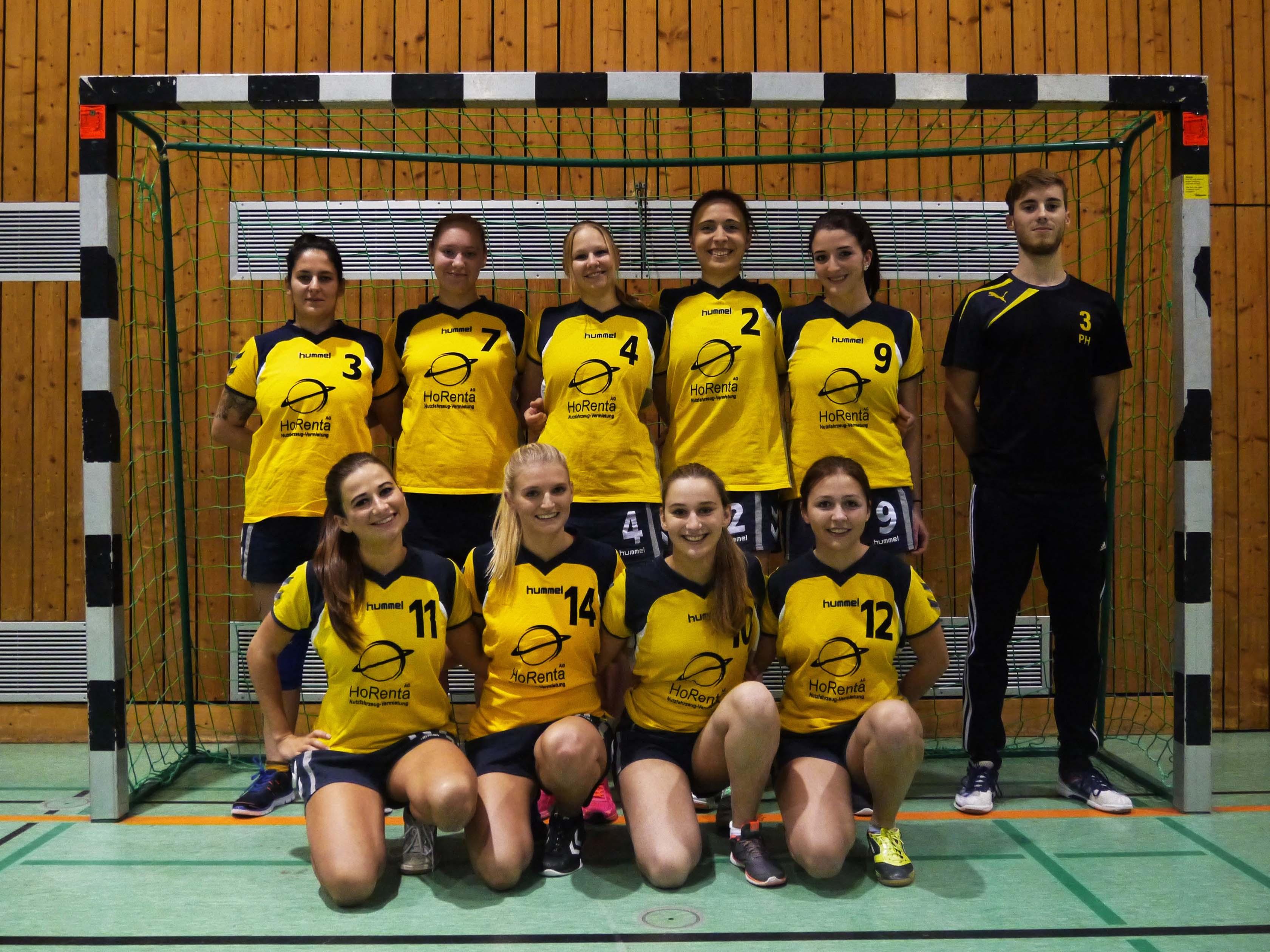 Mannschaftsfoto Damen Saison 2016/2017