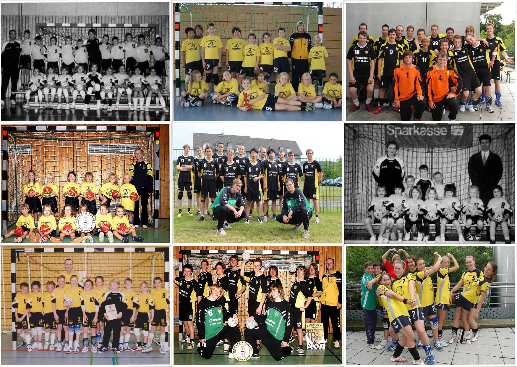Die Handball-Füchse Scheyern feiern 20-jähriges Jubiläum.