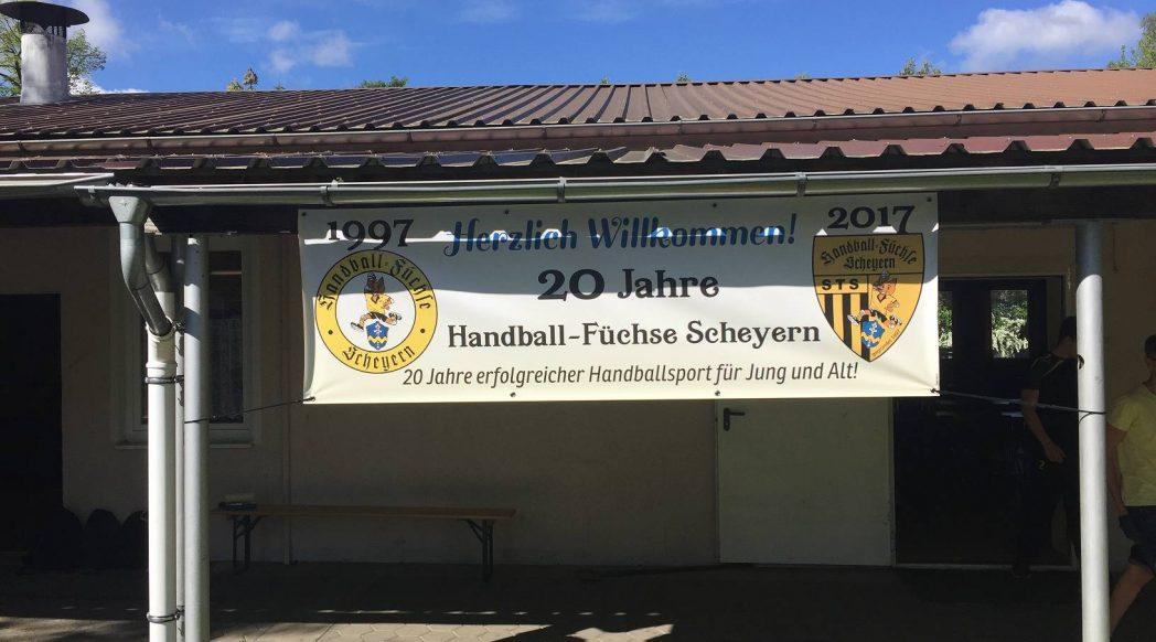 Großes Jubiläumsfest zur Feier von 20 Jahren Handball-Füchse Scheyern