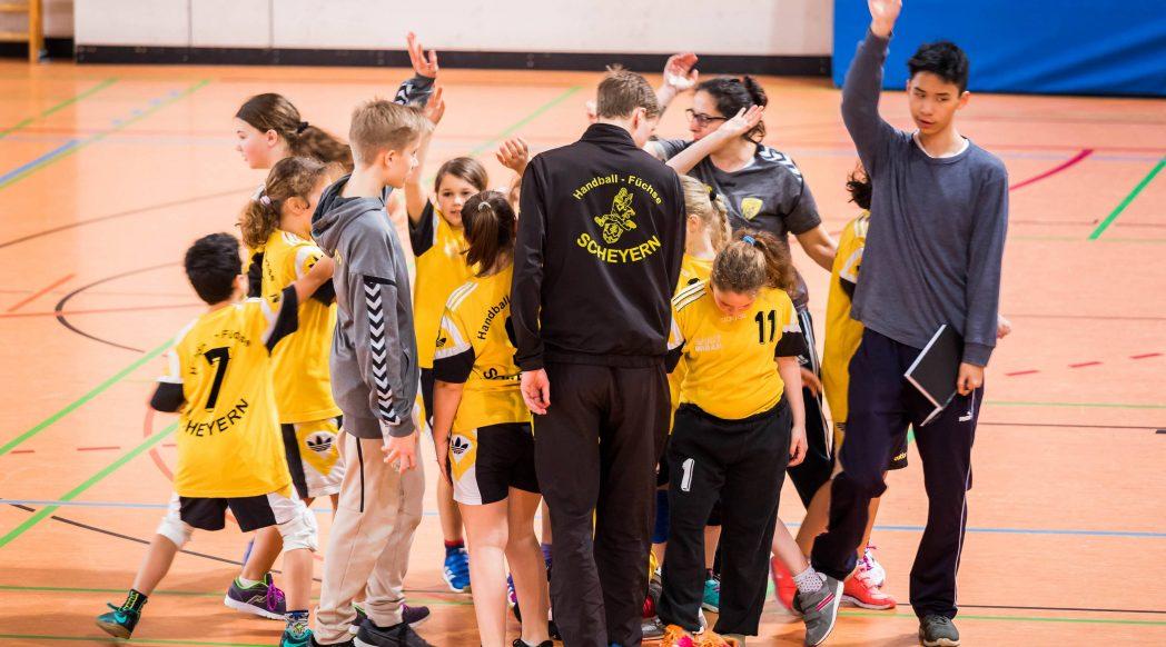 Die weibliche E-Jugend beim 10. Spielbetriebsturnier der Saison.