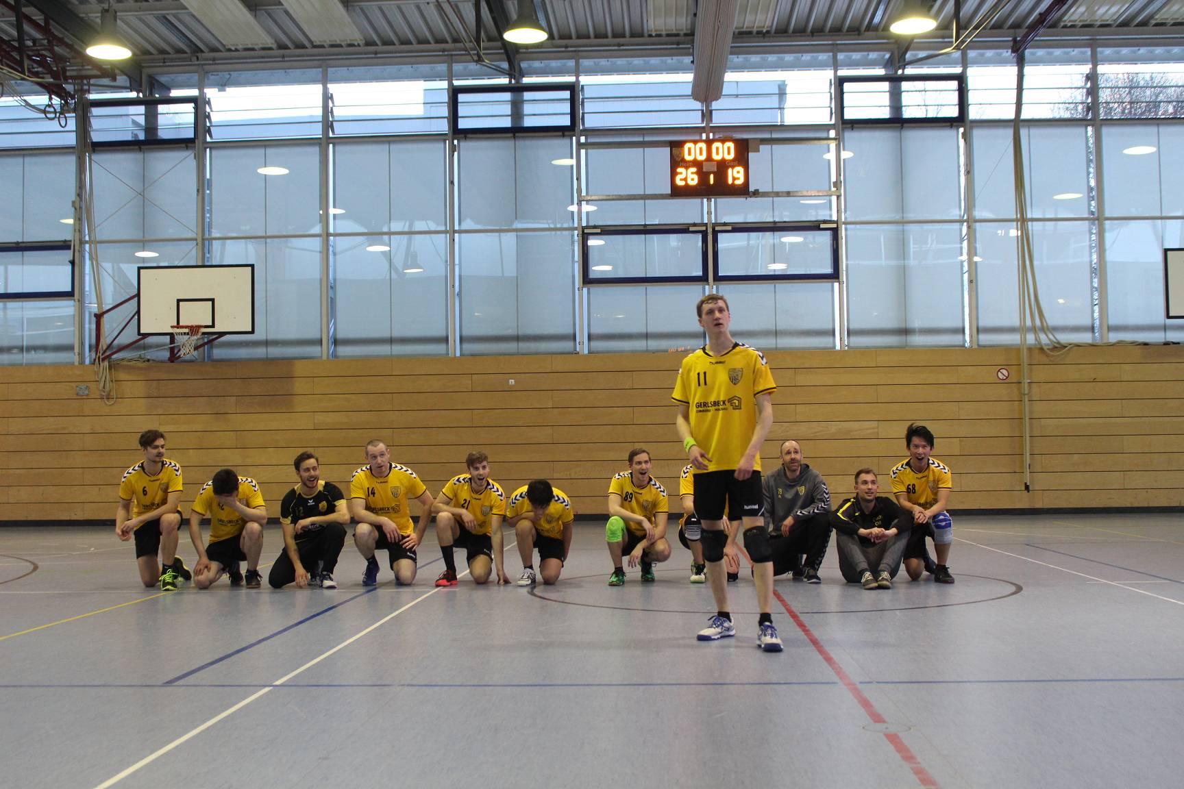 Die Scheyerer Herren gewinnen das Heimspiel gegen Schleißheim II.
