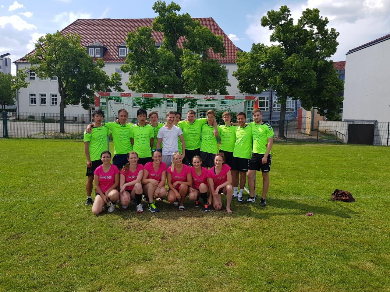 Herren und Damen der Füchse beim Pfingscup in Ebersdorf.