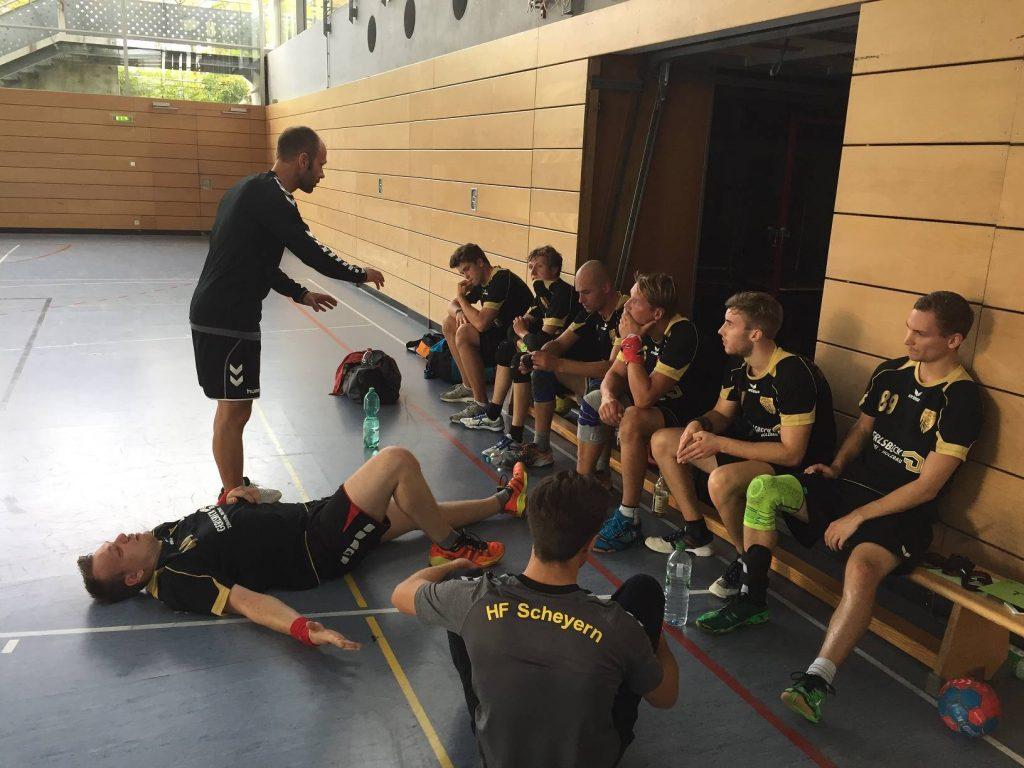Die Herrenmannschaft der Scheyerer Füchse in der Saison 2017/2018.