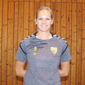 C-Jugend-Betreuerin Annika Zach