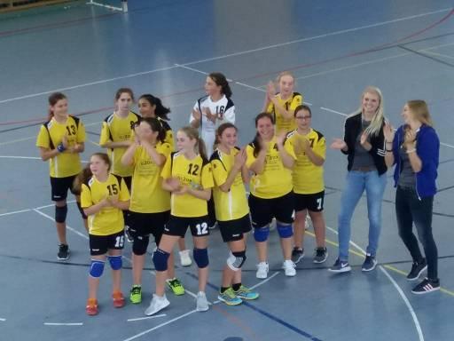 Die weibliche C-Jugend gewinnt gegen Schrobenhausen II