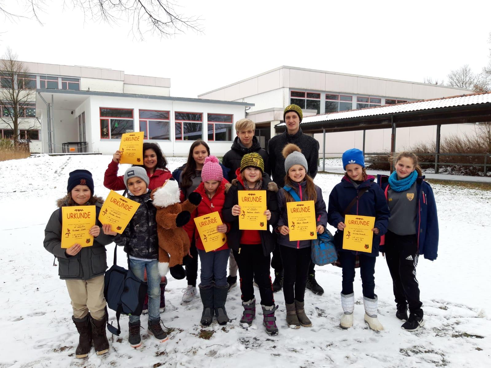Unsere E-Jugend beim Turnier in Wartenberg