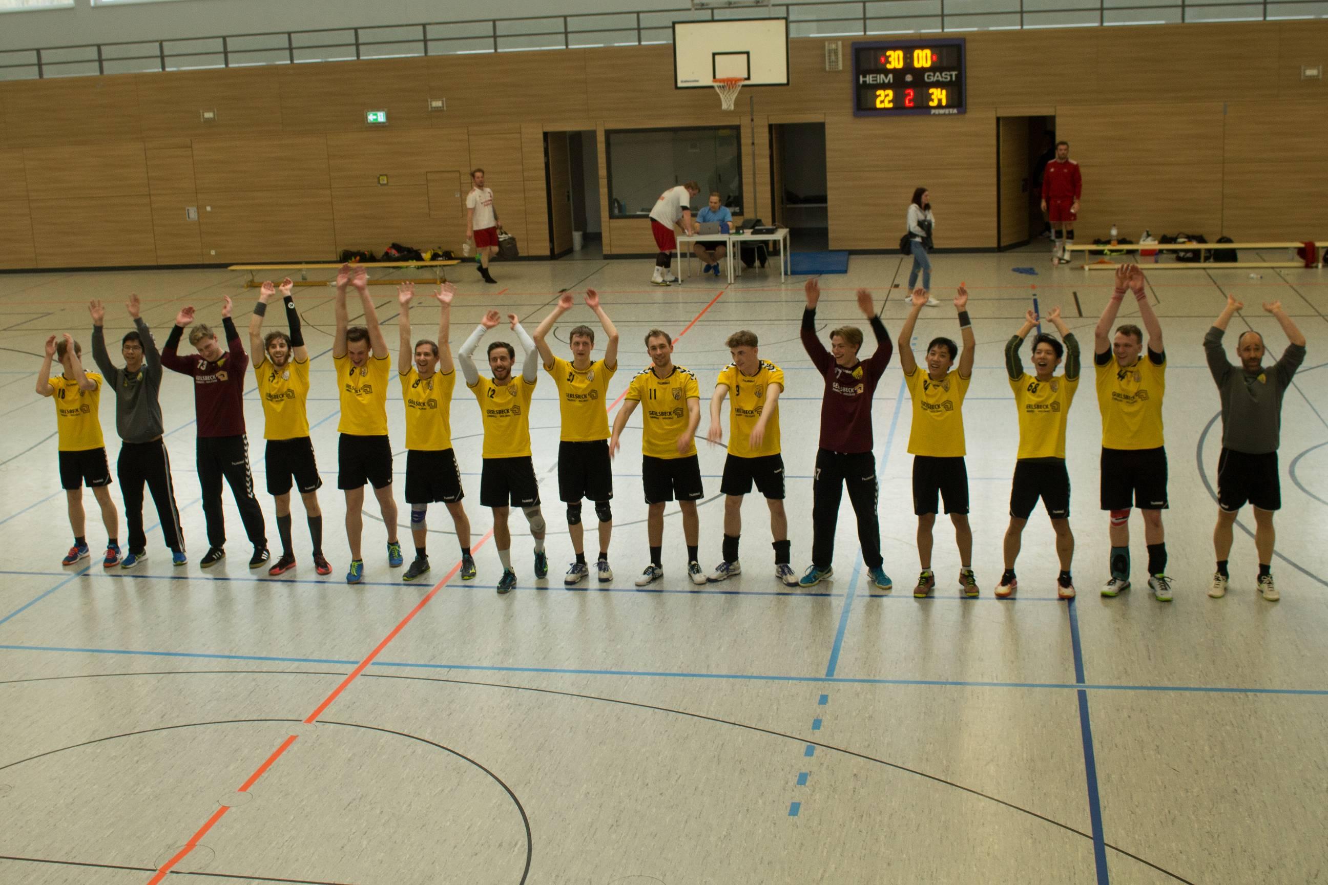 Die Scheyerer Herren besiegen Neuburg