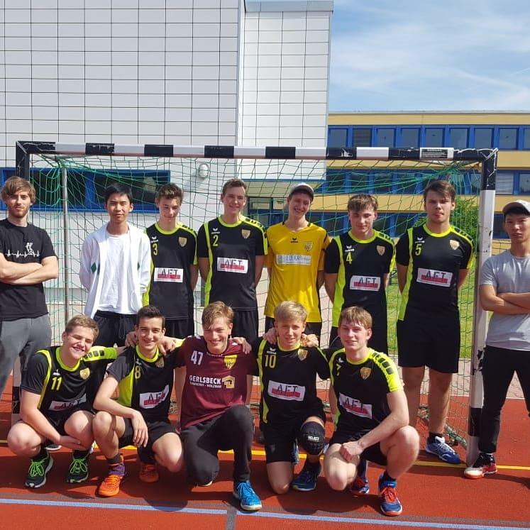 Die männliche A-Jugend bei der 2. Runde der Quali für die ÜBOL