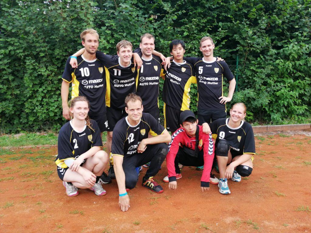 Die Scheyerer Füchse auf dem Handballfest Oberviechtach