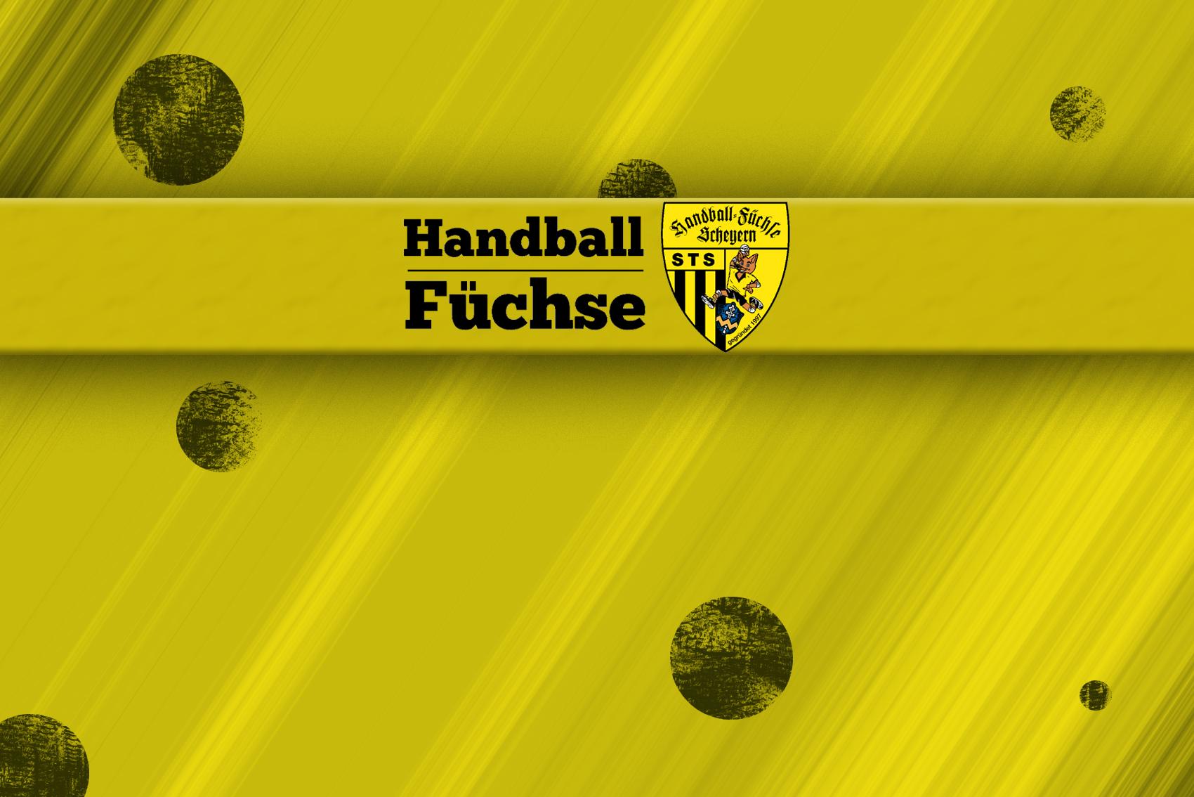 Handball-Füchse Scheyern Saison 2019-2020