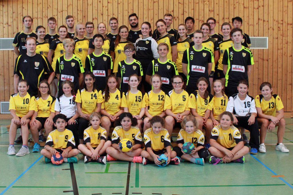 Die Handball-Füchse Scheyern in der Saison 2018/2019