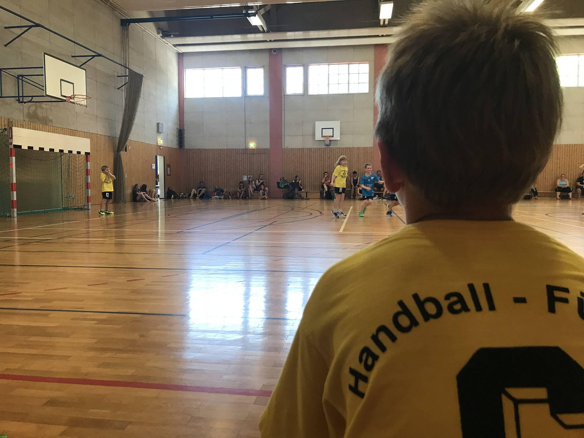 Mini-Handball in Scheyern