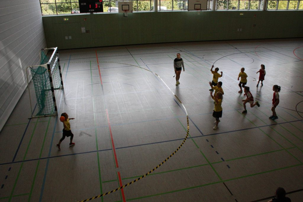Die Scheyerer Minis beim Spielbetriebsturnier in Rohrbach
