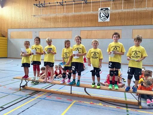 Die Minis beim Spielbetriebsturnier in Ingolstadt