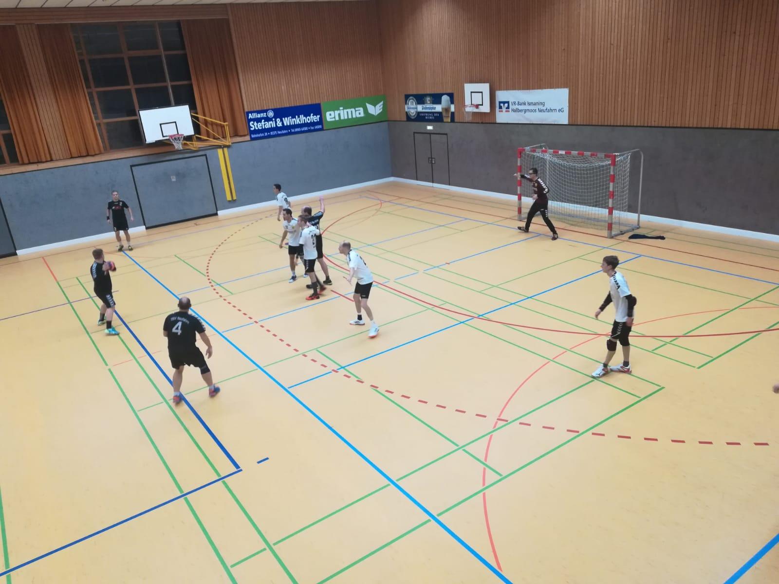 Die Herren besiegen die HSG Freising-Neufahrn III