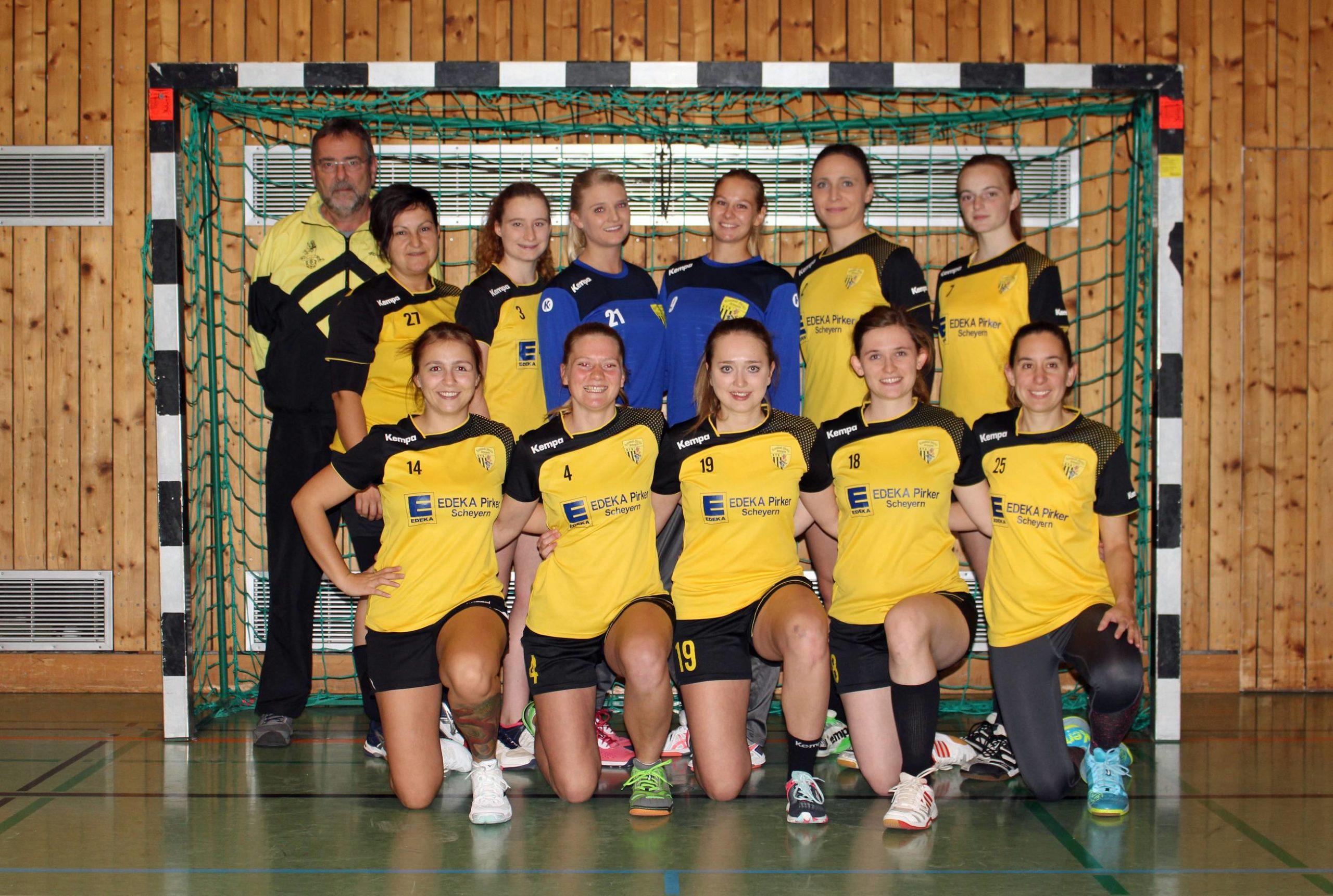 Die Damenmannschaft der Handball-Füchse Scheyern 2019/2020