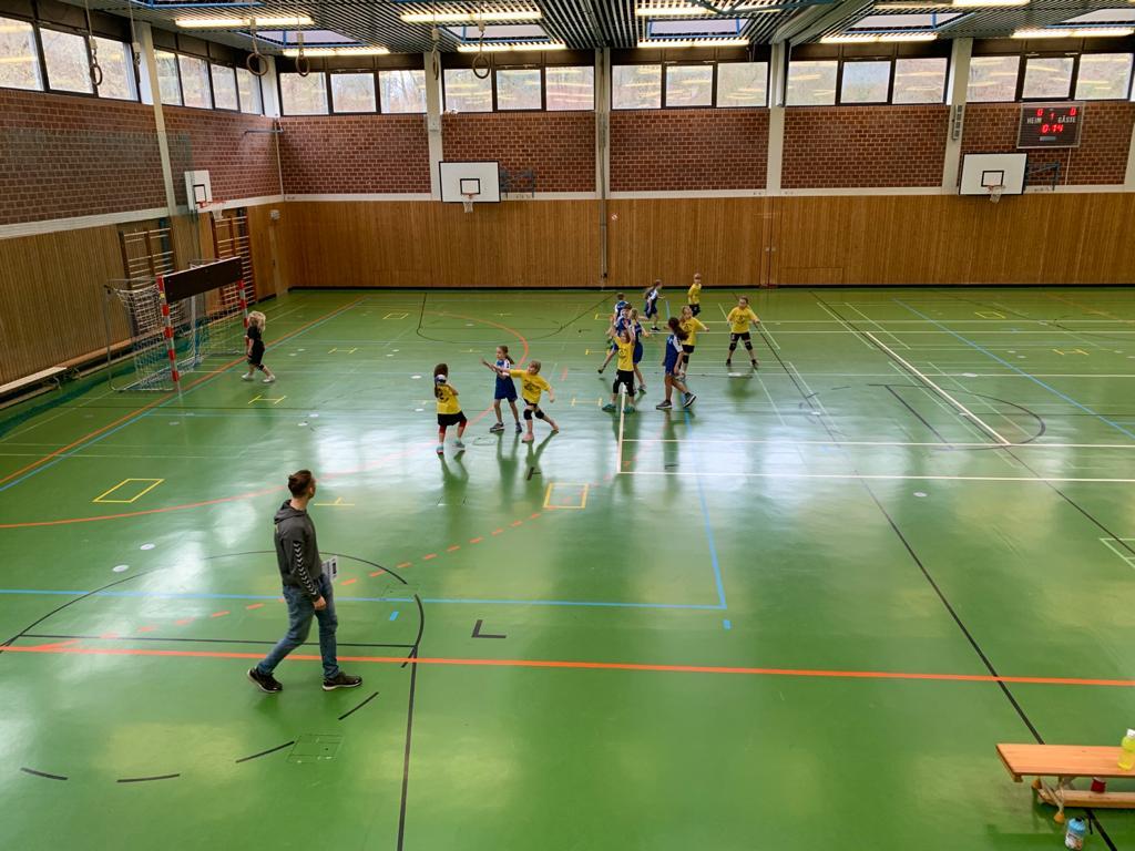 wE beim ersten Turnier in Kirchdorf