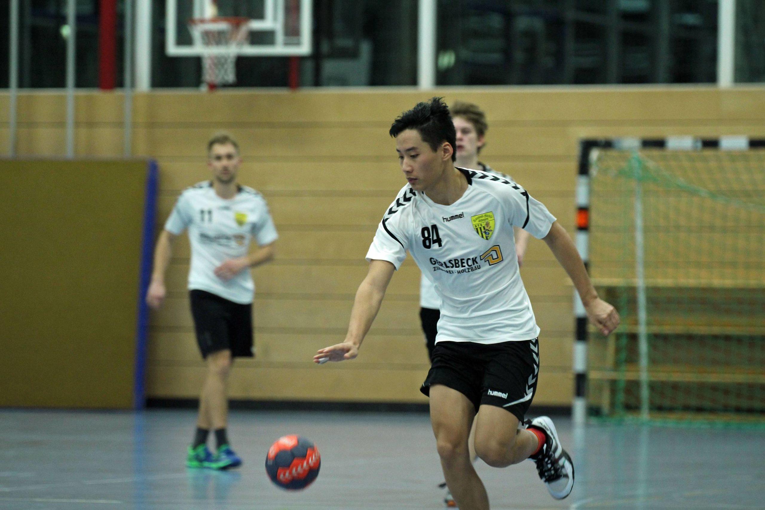 Die Herren der Handball-Füchse Scheyern gegen Schleißheim II