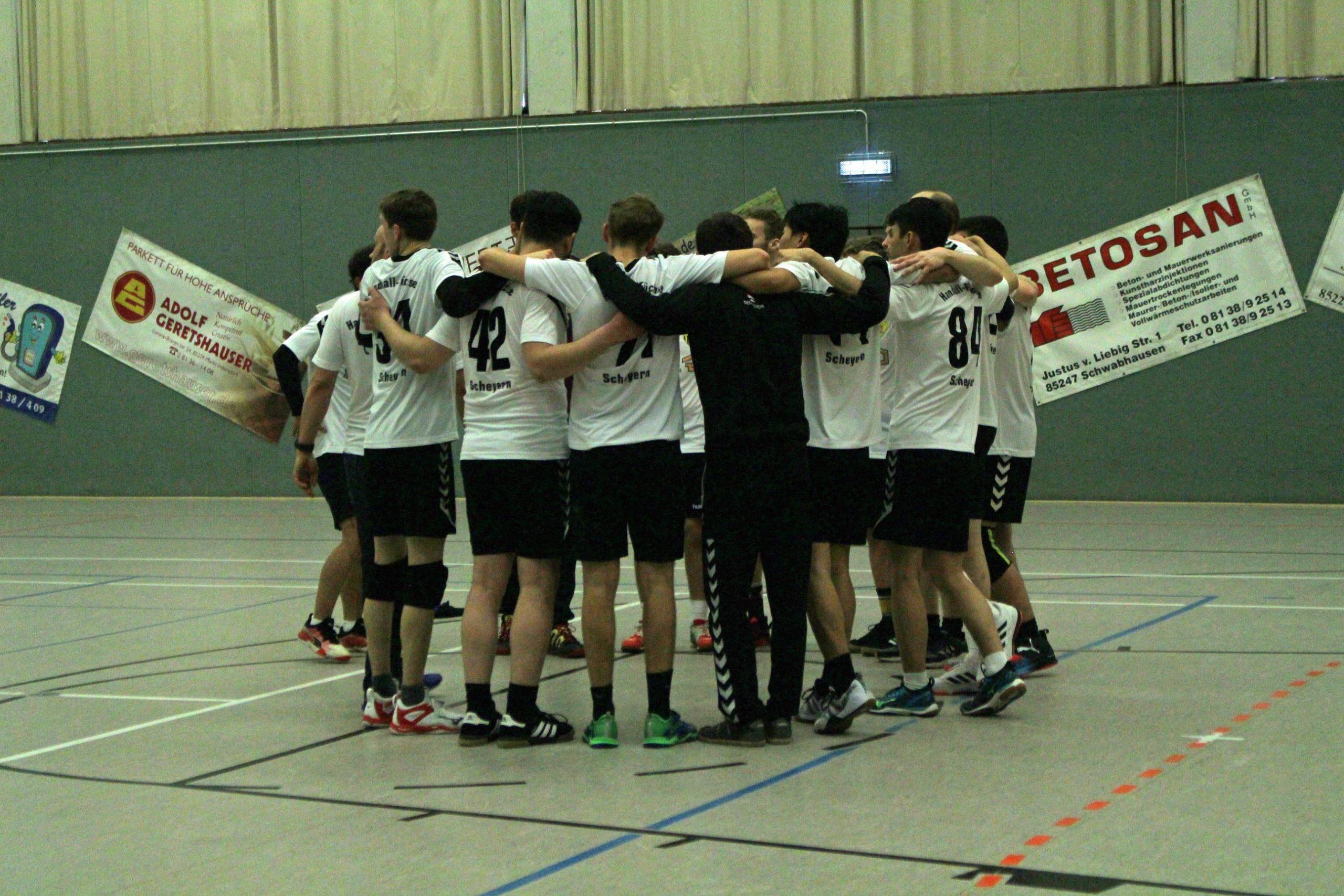 Die Scheyerer Herren besiegen Auswärts die HSG Schwab/kirchen