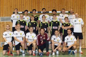 Mannschaftsfoto Herren Saison 2019-2020 Auswärts