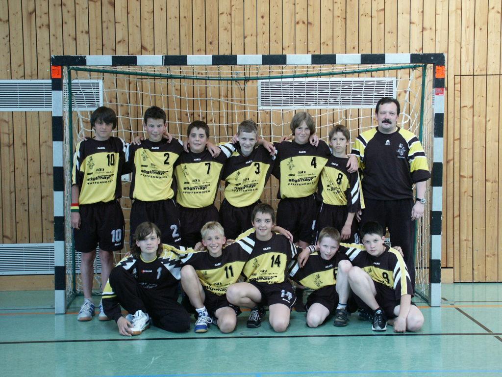 Die männliche C-Jugend von Christian Müller wird Meister