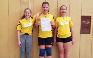 Am BHV-Sichtungstag des Bezirks Altbayern nahmen drei Spielerinnen der Handball-Füchse teil.
