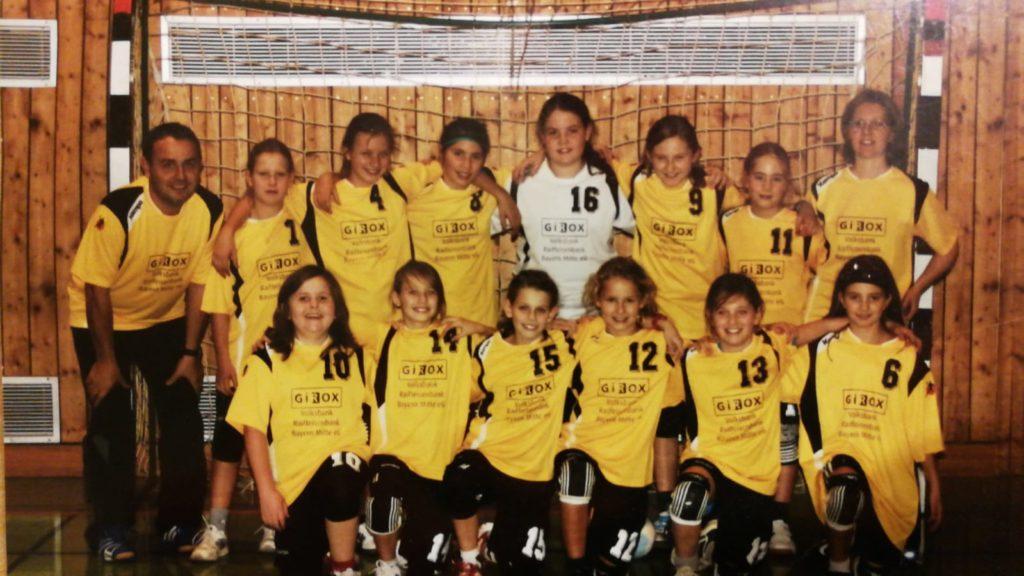Die weibliche D-Jugend der Handball-Füchse qualifiziert sich für die BOL