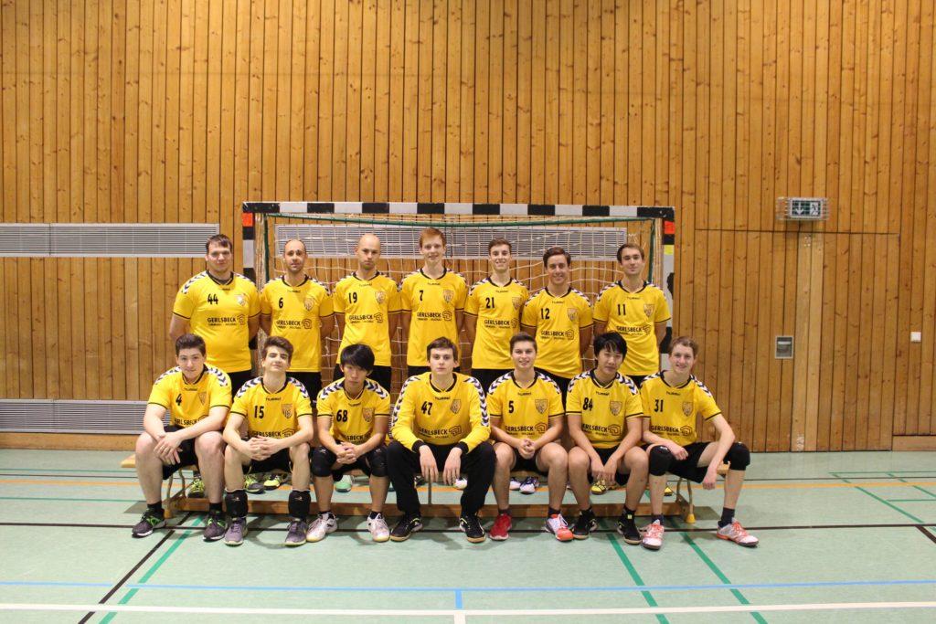 Die Herren der Handball-Füchse in der Saison 2015/2016