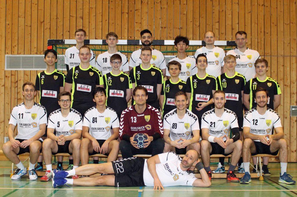Mannschaftsfoto Herren und A-Jugend Saison 2019-2020