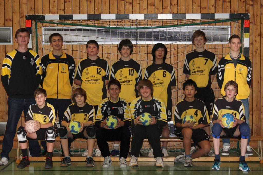 Offizielles Mannschaftsfoto männliche C 2011/2012