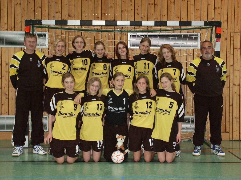 Die Meistermannschaft der weiblichen C-Jugend