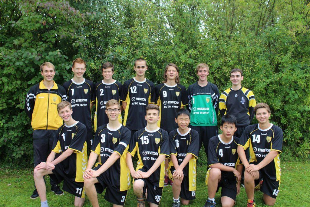 Die männliche A-Jugend der Saison 2014/2015