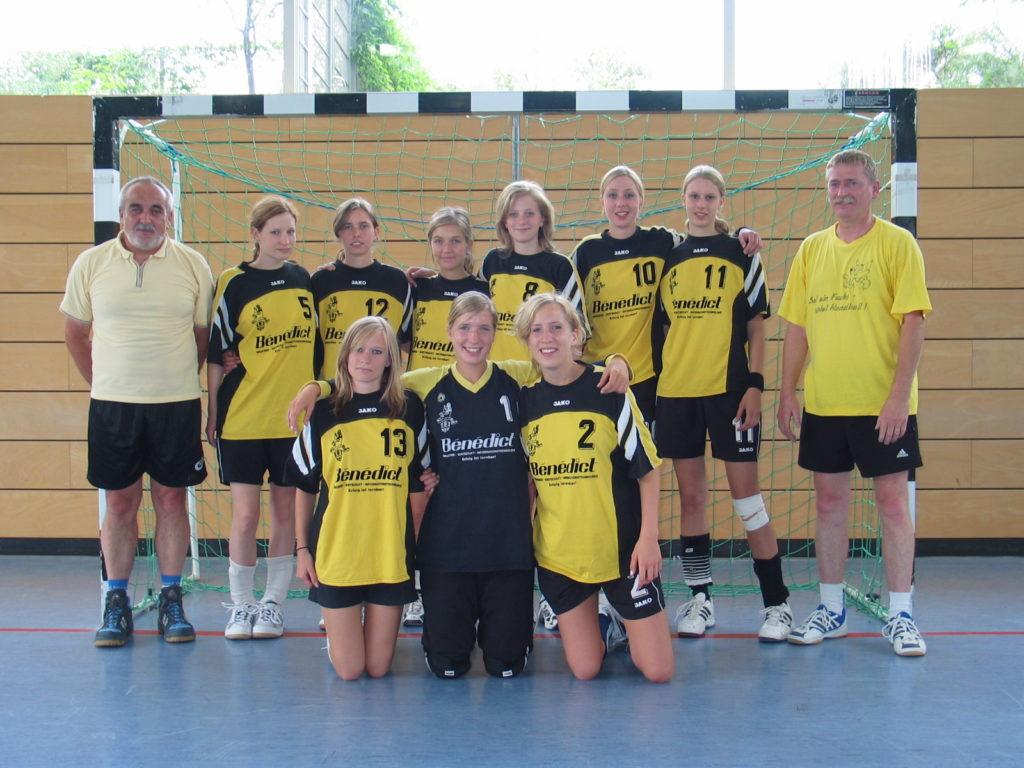 Die weibliche A-Jugend der Handball-Füchse wurde Meister