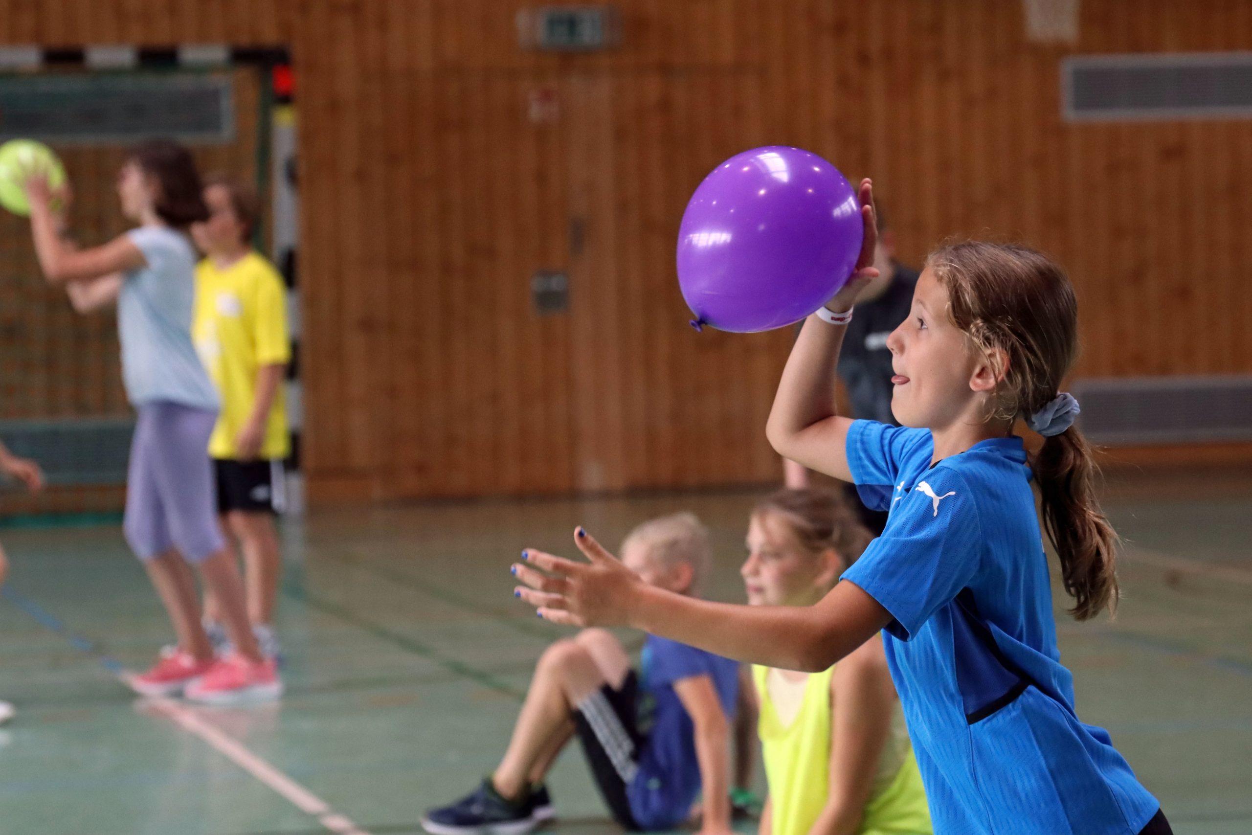 Ferienpassaktion der Handball-Füchse Scheyern